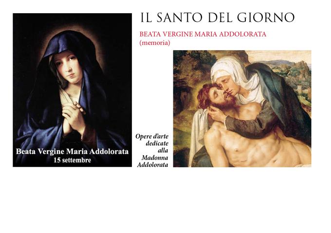 Risultati immagini per 15 settembre il sant del giorno