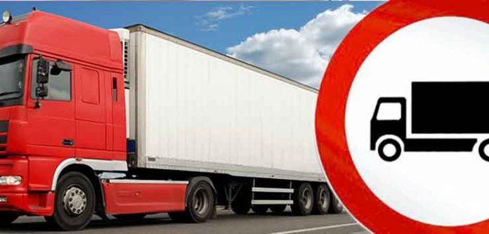 chiusura ai mezzi pesanti