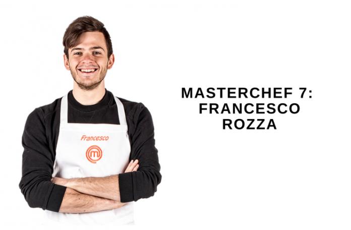 Francesco Rozza a Masterchef