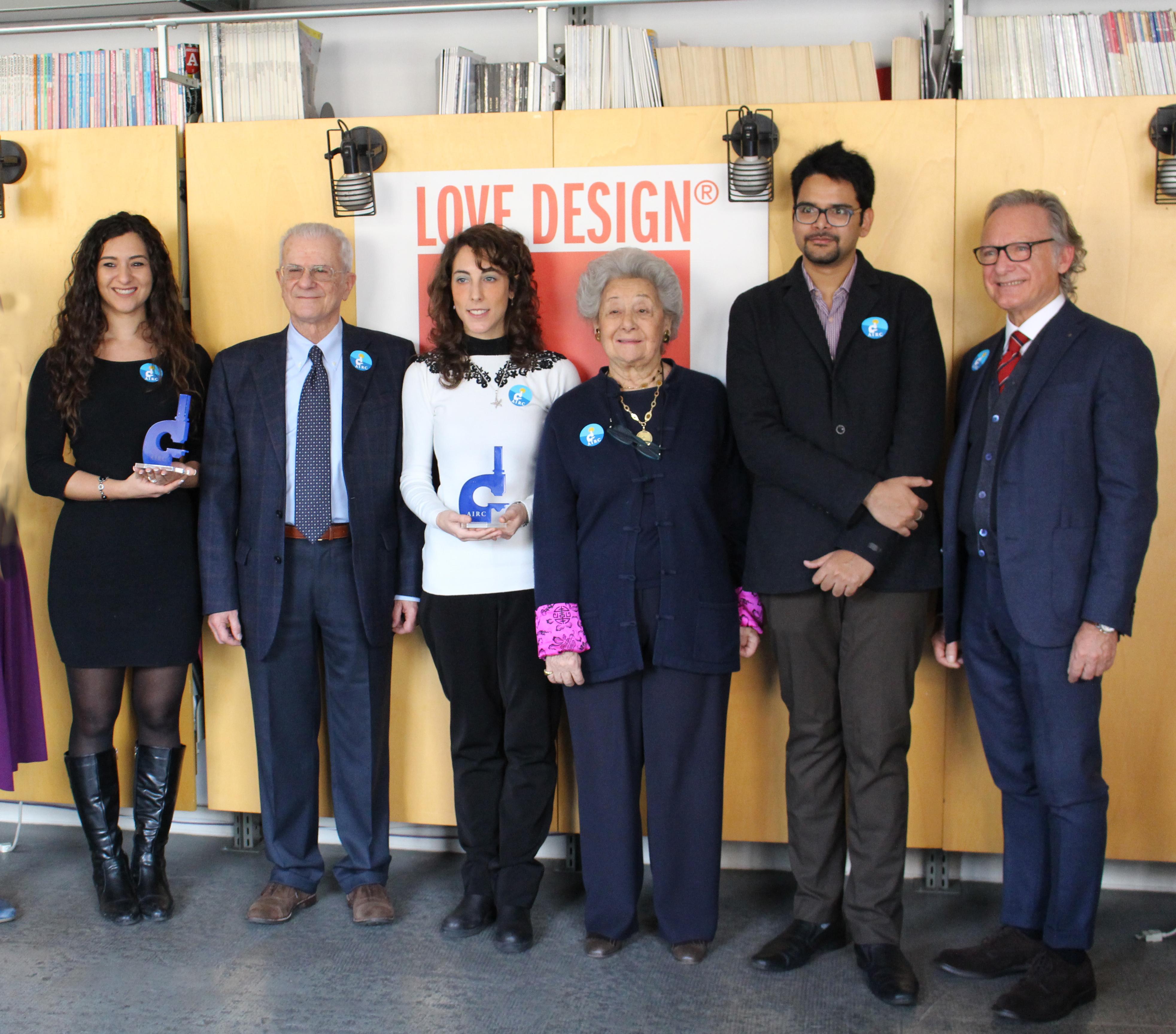 Milano love design consegnate da adi e airc 3 borse for Love design milano
