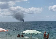 esplosione barca